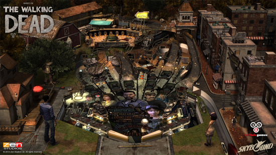 Play The Walking Dead Pinball on SHIELD