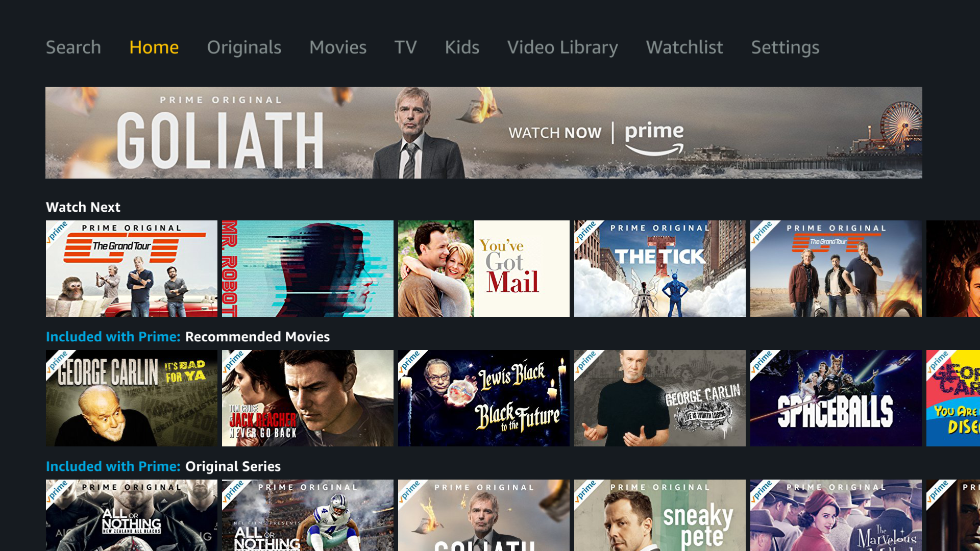 Stream 4K HDR movies and shows on Amazon Prime Video.