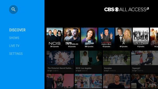 CBS All Access app lets you watch live and on-demand shows
