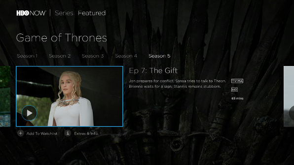 Watch the latest movies and TV shows on HBO NOW.