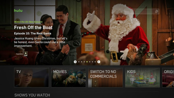 Hulu app offers the best place to view newer TV content