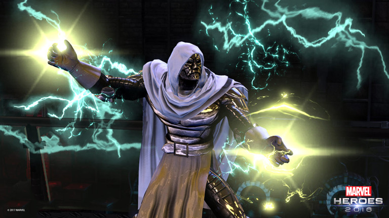 Dr. Doom's up to no good once more in Marvel Heroes. and it's up to you to stop him!