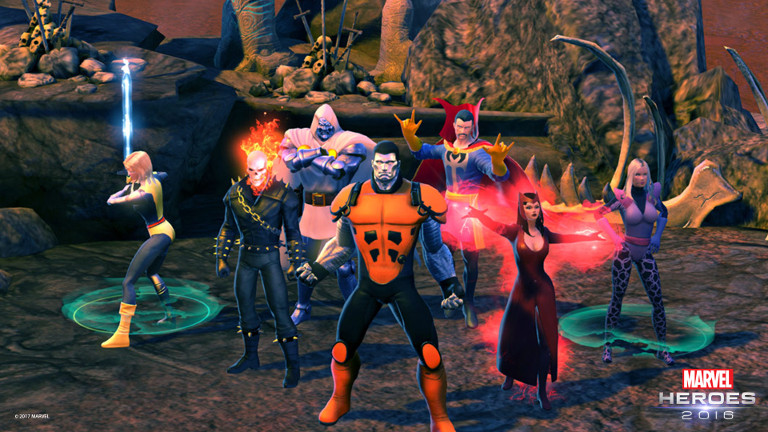 Marvel Heroes lets you live out your superhero fantasy - who will you be?