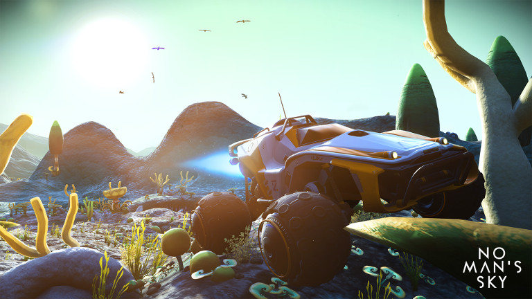The epic space-faring adventure No Man's Sky has been released on SHIELD, and it is available to play instantly on GeForce Now. Learn more.