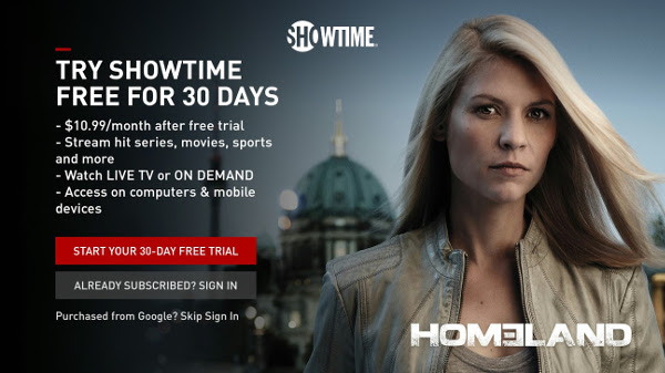 SHOWTIME app lets you watch and on-demand TV