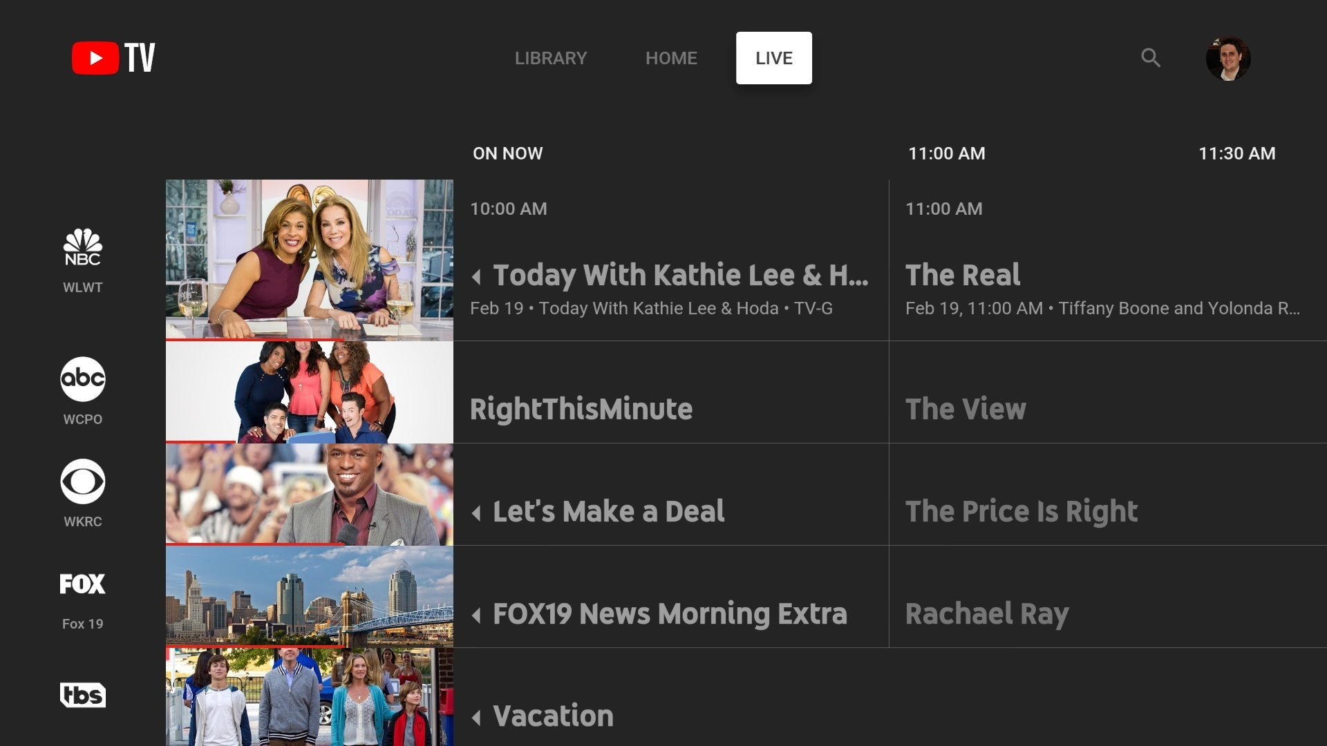 Youtube TV now on NVIDIA SHIELD