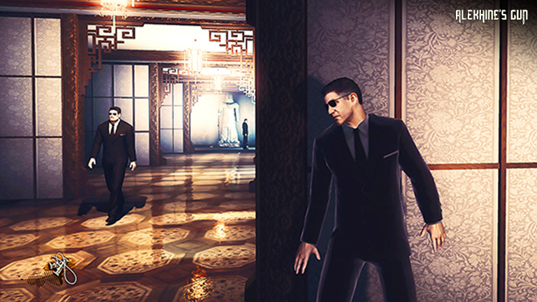 Alekhine's Gun - Spy sneaks into building