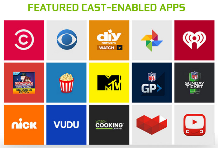 Cast your favorite apps to NVIDIA SHIELD