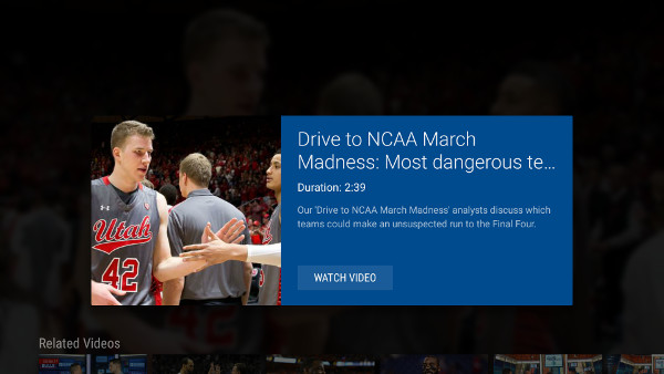 Get March Madness updates with the CBS Sports app