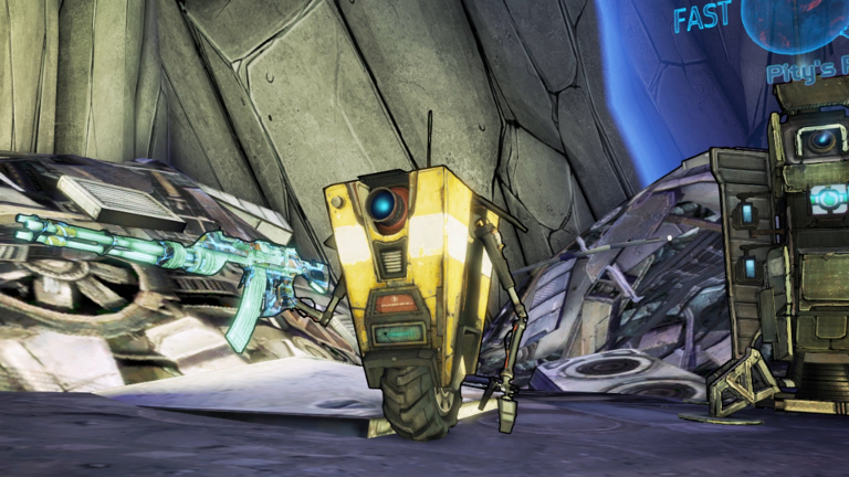 Borderlands: The Pre-Sequel - Claptrap the Fragtrap