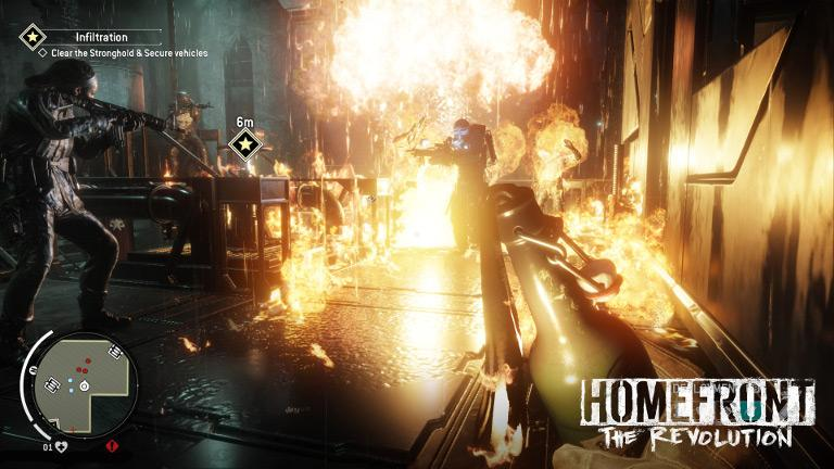 Homefront: The Revolution – Clear KPA stronghold and secure vehicles