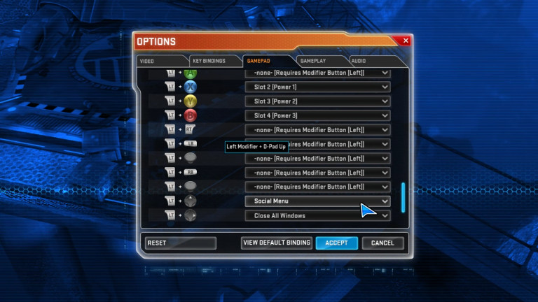 Take some time to create command shortcuts for things you'll use often - like opening the in-game Social Menu.