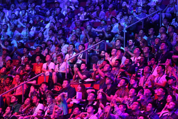 Audience Shot at this year's DOTA 2 TI Grand Finals