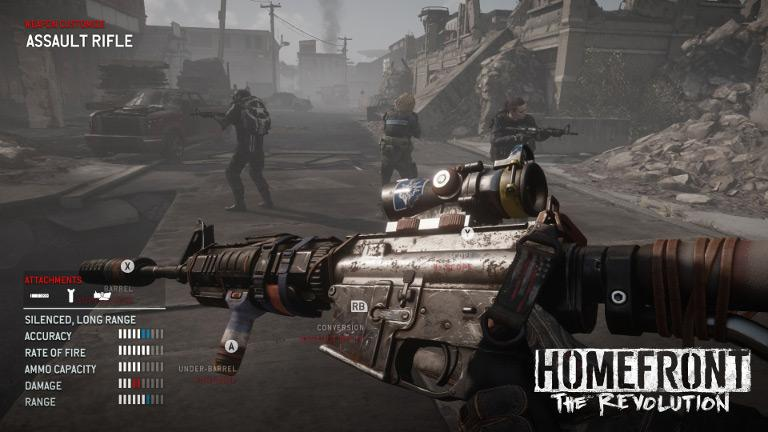 Homefront: The Revolution – Customize weapon