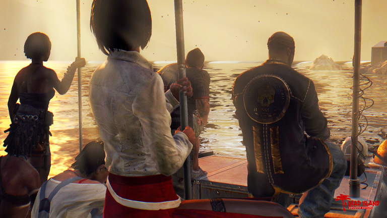 Dead Island Definitive Editions - Survivors on a boat