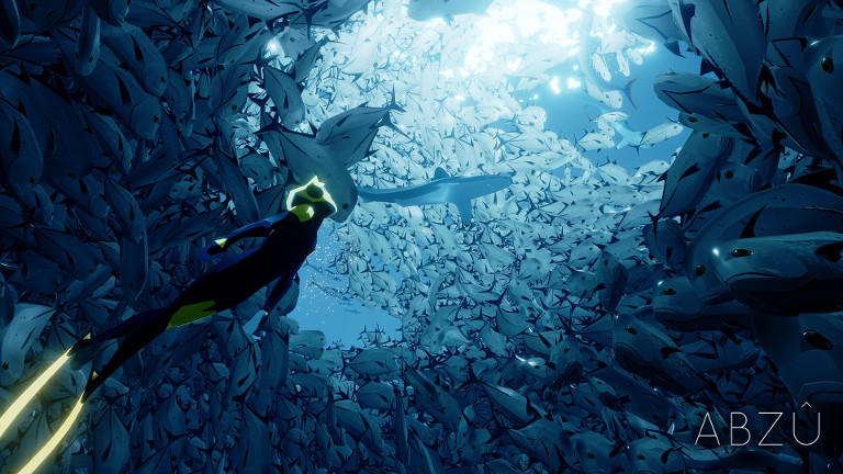 ABZÛ - Explore sea life in deep ocean