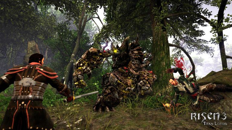 Risen 3: Titan Lords – Fighting with magic and swords