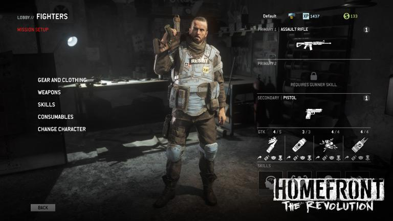 "Homefront: The Revolution – Gear up Ethan ""Birdy"" Brady for war"