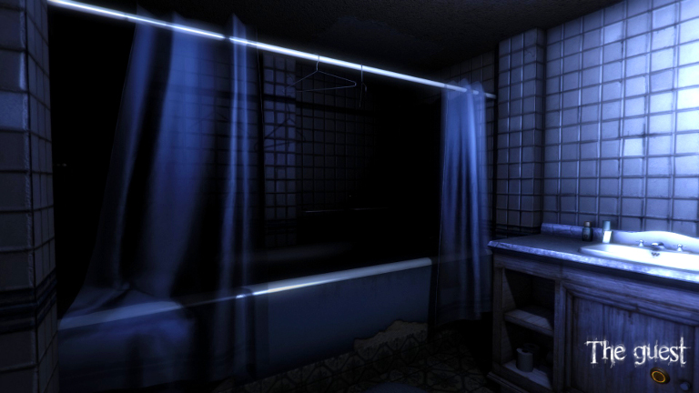 There's a strange knocking from your bathroom door.