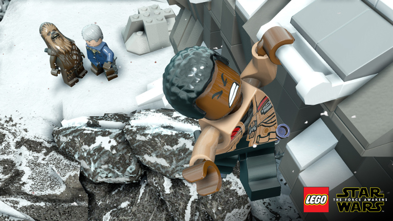 LEGO Star Wars: The Force Awakens - Han Solo, Chewbacca, and Finn