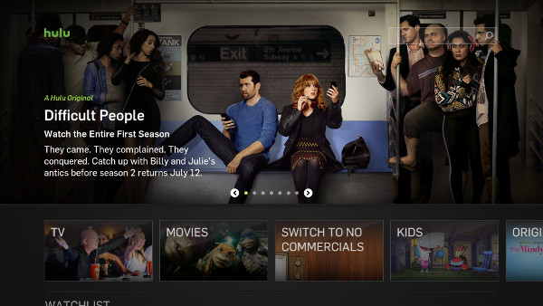 Hulu on SHIELD Android TV