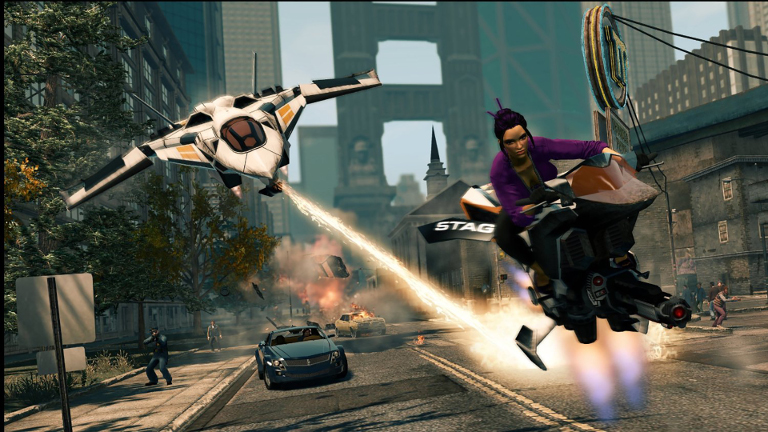 Play Saints Row The Third on SHIELD with GeForce NOW
