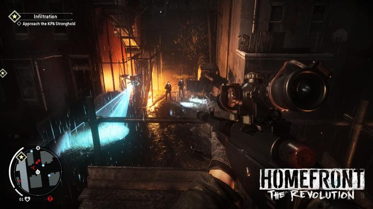 Homefront: The Revolution – Infiltrate KPA stronghold