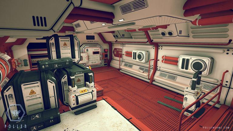 P.O.L.L.E.N – Explore the inside of research base Station M