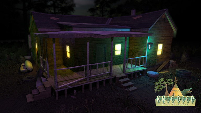 The Dark Backwater House in Knee Deep