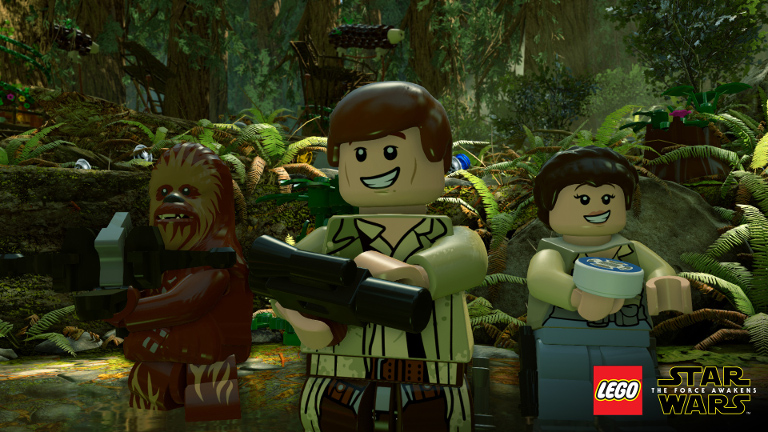 LEGO Star Wars: The Force Awakens characters