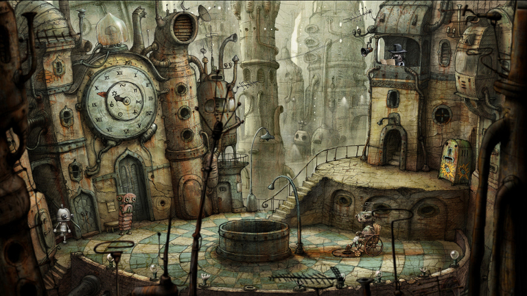 Play Machinarium on SHIELD!