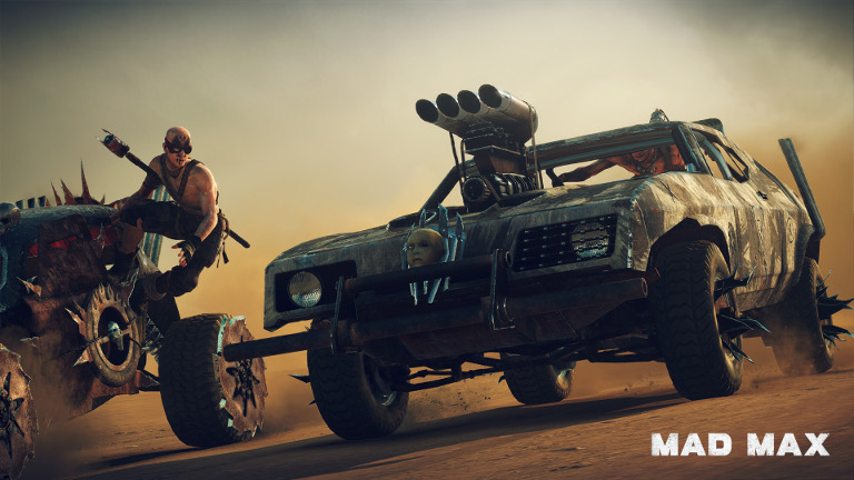 Mad Max - Car chase action