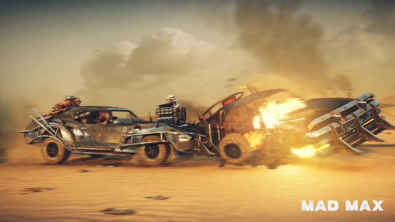 Mad Max - Car collision and explosion