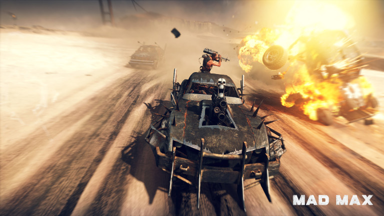 Mad Max in car combat