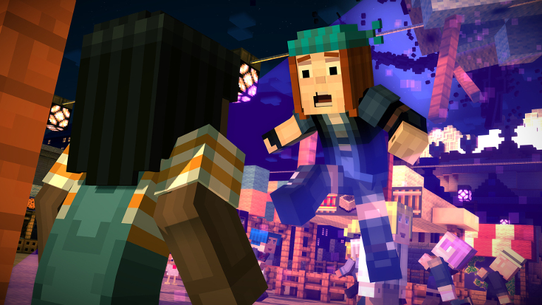 Play Minecraft: Story Mode on SHIELD!