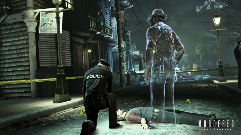 Murdered: Soul Suspect - Ronan O'Connor in spirit form