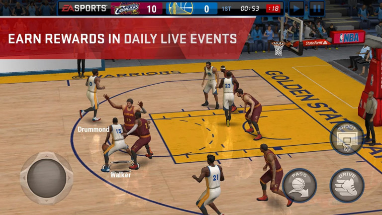 NBA Live Mobile - Earn rewards in daily live events