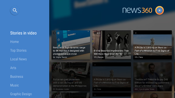 "A self-described ""personalized news reader,"" the News360 app lets you tailor your newsfeed so that you get just the news that's of interest to you."