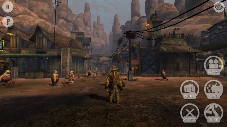 Play Oddworld: Stranger's Wrath on SHIELD!