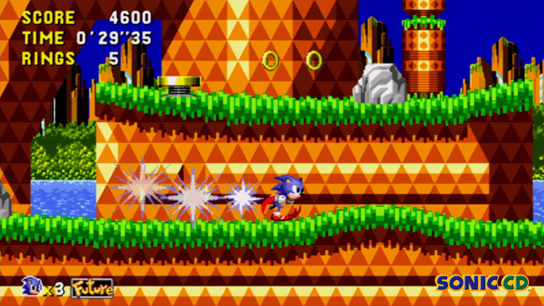 Play Sonic CD on SHIELD with GeForce NOW