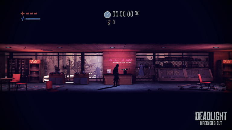 Deadlight: Director's Cut  - Randall Wallace checks empty cafe