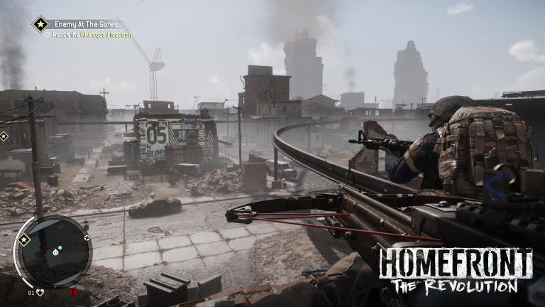 Homefront: The Revolution – Reach KPA squad location