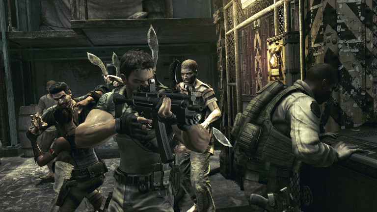 Play Resident Evil 5 on SHIELD Android TV