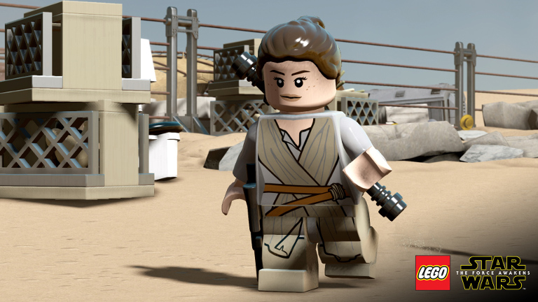 LEGO Star Wars: The Force Awakens - Rey