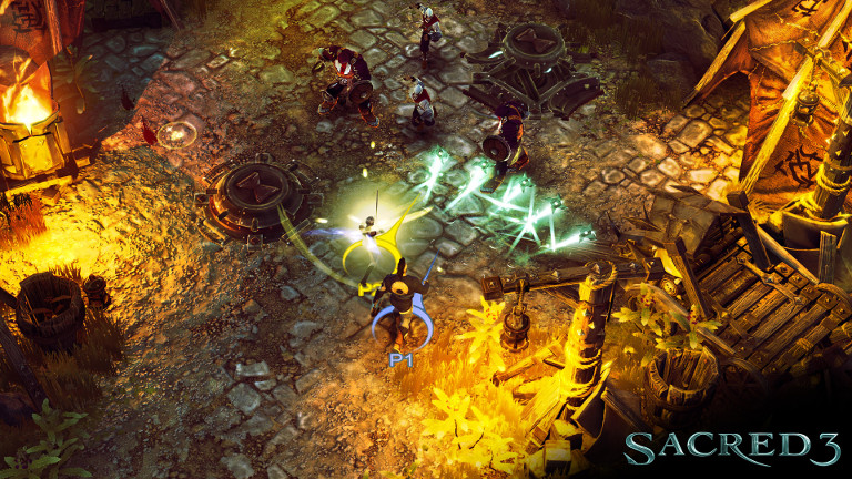 Play the Role-playing Game Sacred 3 on SHIELD