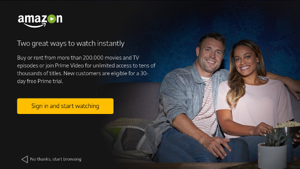Watch Amazon videos and movies instantly on SHIELD