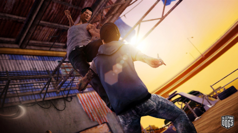 Sleeping Dogs - Martial Arts Fight