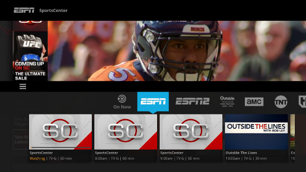 Sling TV on SHIELD Android TV