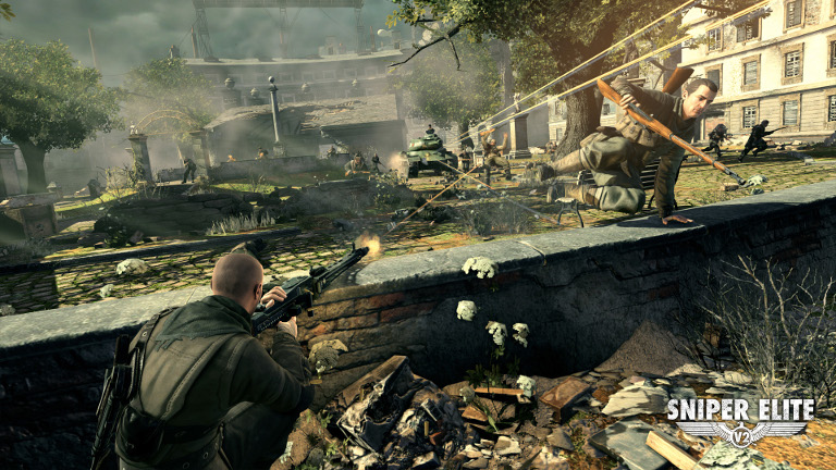 Play Sniper Elite V2 on SHIELD with GeForce NOW
