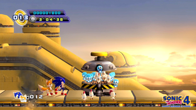 Play Sonic the Hedgehog 4 Episode 2 on SHIELD
